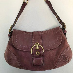 Vintage Coach Purse with Snap Open